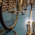 Bike in chains