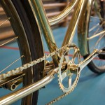 Bike chain and pedal