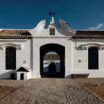 The entrance of the ranch El Pinganillo