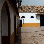 Typical Andalusian architecture at the Yeguada Lovera