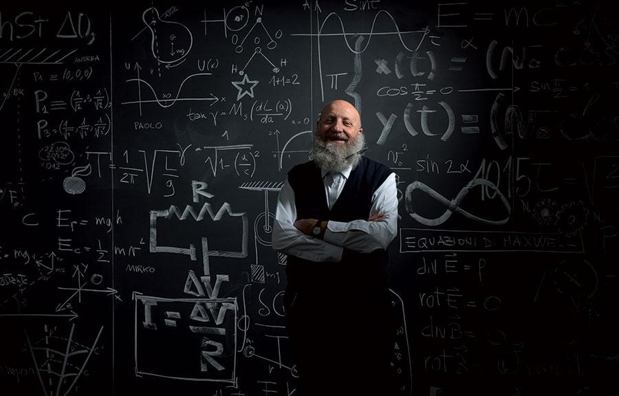 Elio Carmi (61) creative director at CarmiUbertis, Milan (Italy)