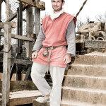 Fabrice Maingot (39) stonemason