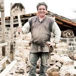 Pascale Massenet (48) stonemason