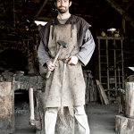 Martin Claudel (26) blacksmith