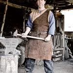 Vincent Granon (47) blacksmith