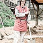 Mélanie Baillet (32) stonemason