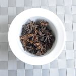 Illicium verum, commonly called star anise, is a spice that closely resembles anise in flavor. It is obtained from a medium-sized native evergreen tree of northeast Vietnam and southwest China