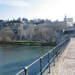 Avignon (France) The city wall