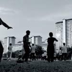 Morning exercise in the heartlands, Singapore.  © Lim Lian Hai