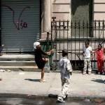Children jumping rope in Harlem