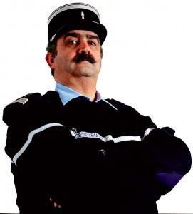 Policeman Gilbert Trouilh © Yann Arthus-Bertrand